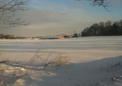 Vinter på Berga