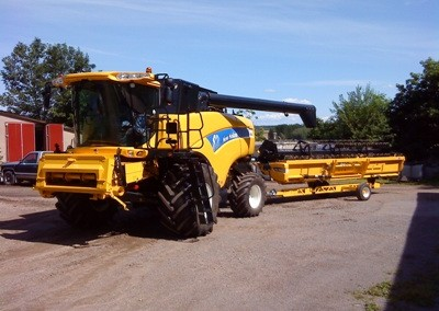 New Holland CX 8060, 24 fot skärbord